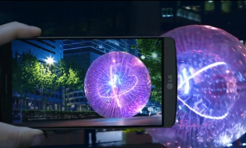 The third generation of smartphone from LG
