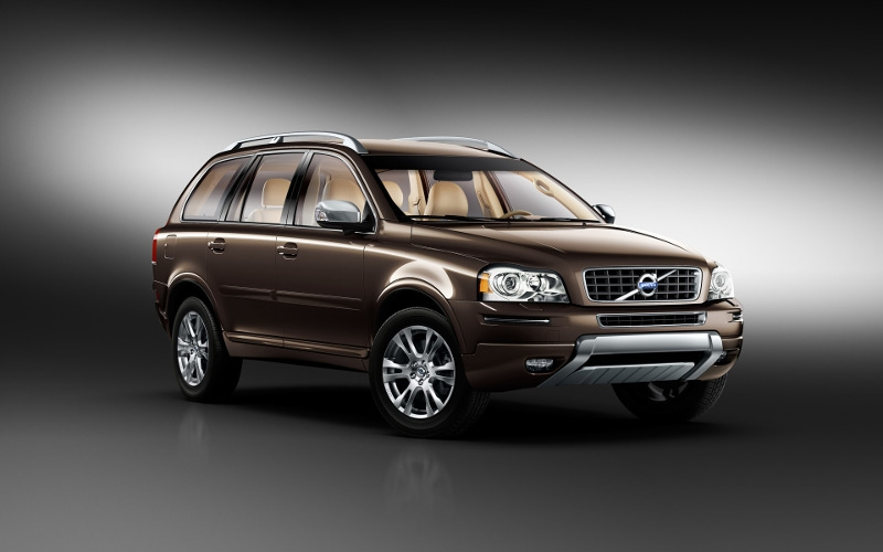 Volvo XC90 – crash test